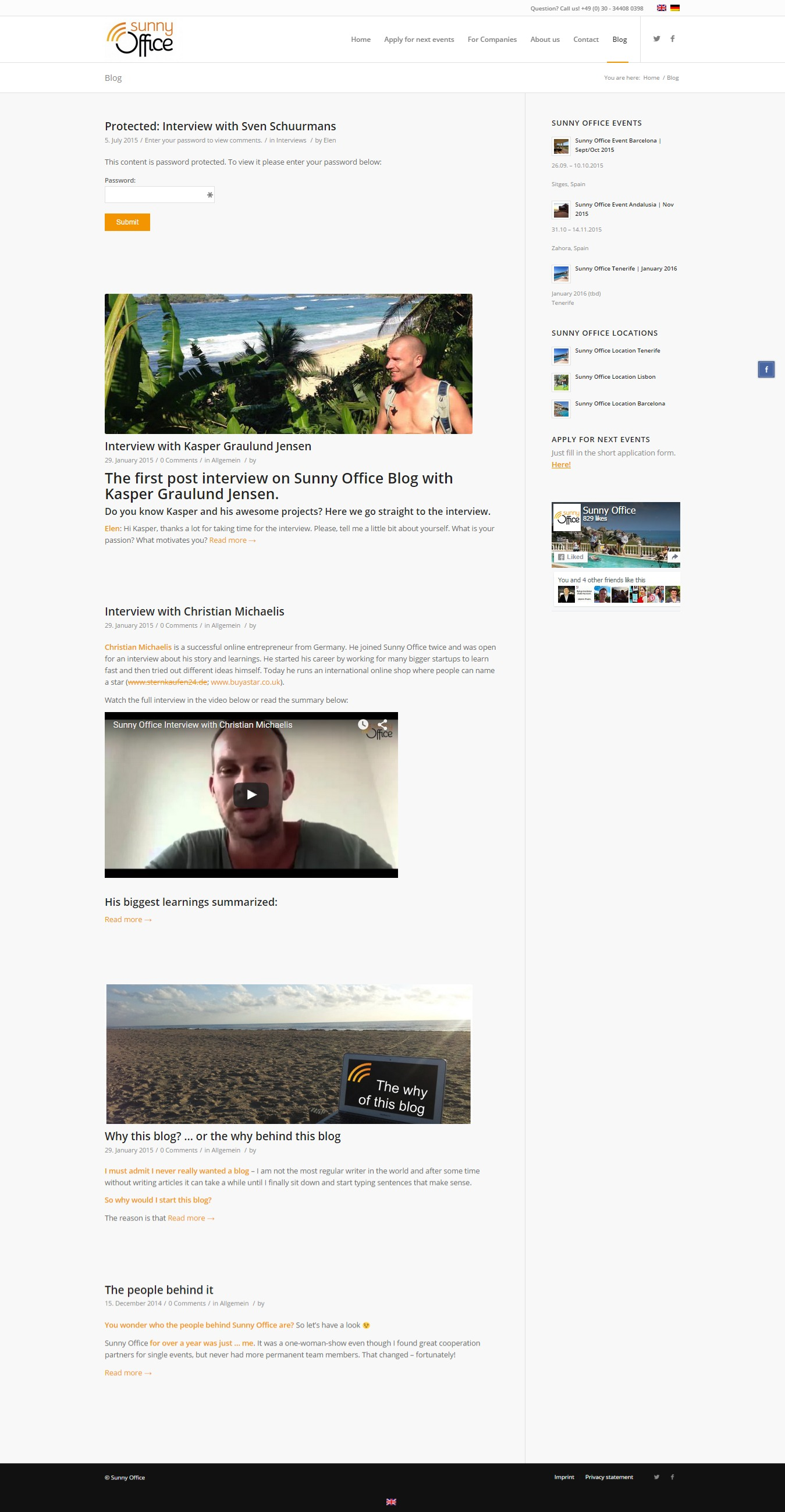 Blog   Sunny Office ORIGINAL