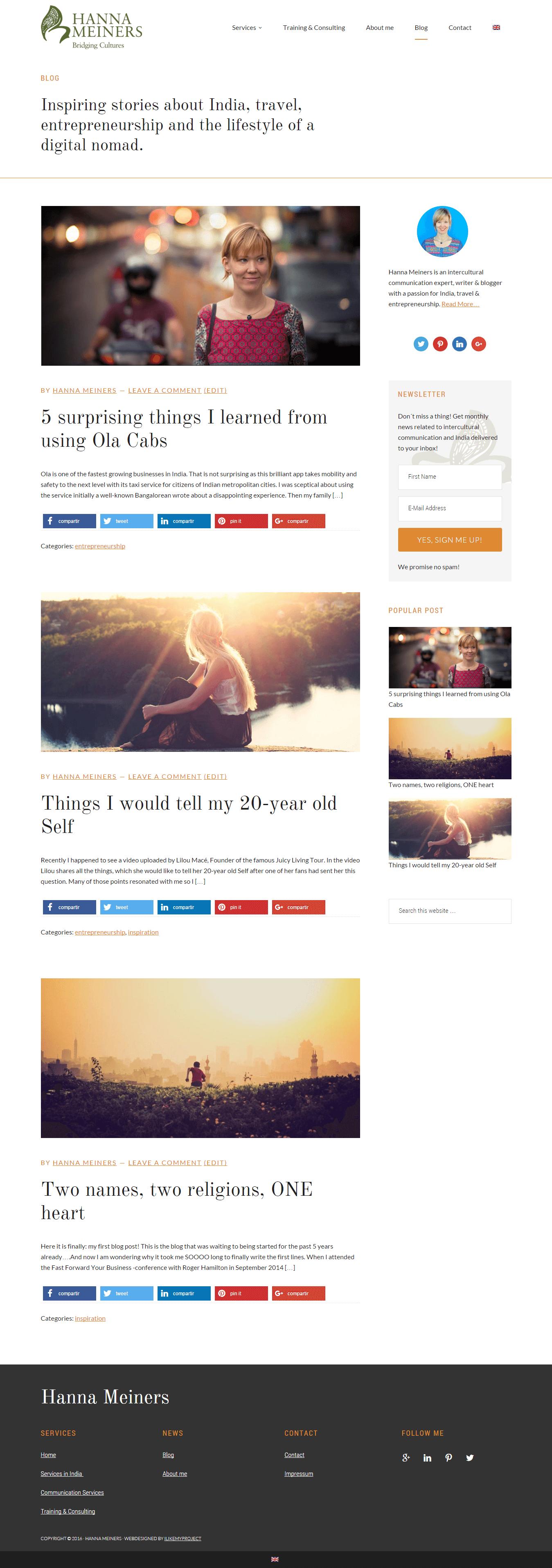 Blog   Hanna Meiners