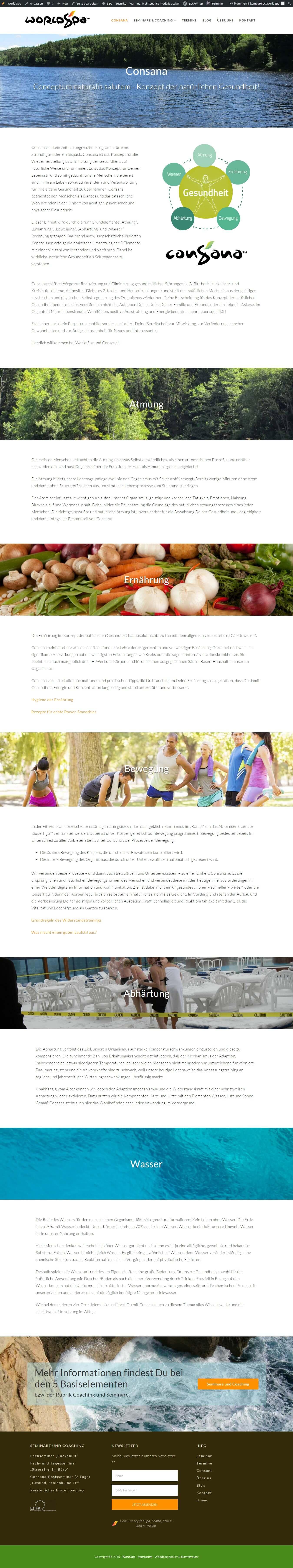 Consana   Konzept der natürlichen Gesundheit